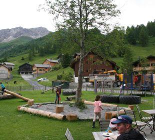 Spielplatz Gorfion - Das Familienhotel