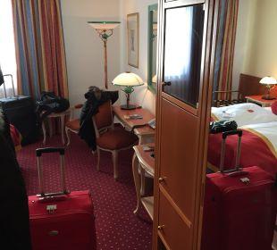 Flur vom Zimmer Luitpoldpark Hotel Füssen
