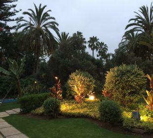 Gartenanlage Hotel Botanico