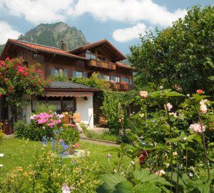 Unser Garten Ferienwohnungen Schneider Bad Hindelang