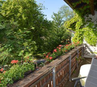 Blick vom Balkon Haus Anny Schall