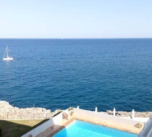Ausblick von Zimmer 415 JS Hotel Cape Colom