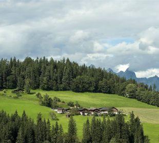 Leitengut mit Eckwaldhütten Ferienhof Leitengut