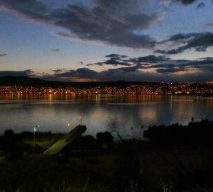 Blick auf den Titicacasee und Puno Hotel Libertador Lago Titicaca