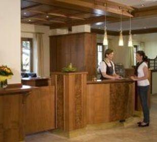 Lobby/Eingang Hotel Garni Sallerhof