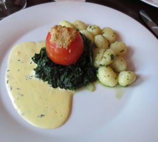 Speise von der Karte vom Restaurant Weinrot Hotel Haverkamp