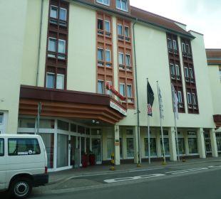 Hoteleingangsbereich Achat Premium Hotel Neustadt/Weinstraße