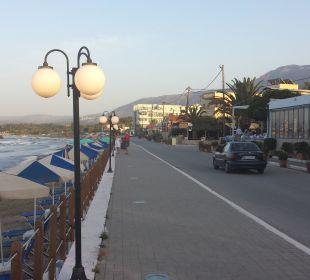 Restaurant, Promenade, Strand Hotel Corissia Beach