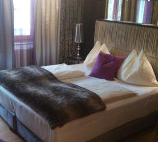 Boxspringbett Hotel Winzer Wellness & Kuscheln
