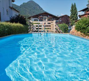Pool Angerer Familienappartements Tirol