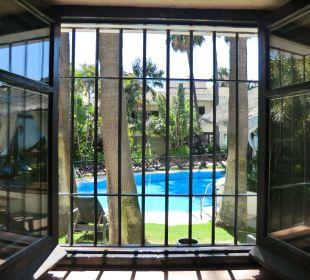 Ausblick aus Zimmer 221  Hotel BlueBay Banús