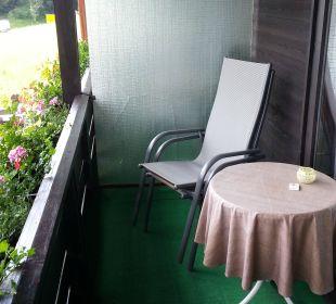 Zimmereigener Balkon Pension Haus Hochstein