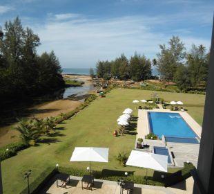 Ausblick von der Toilette  Khao Lak Riverside Resort & Spa