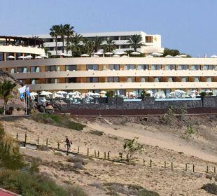 .... von der Meerseite IBEROSTAR Hotel Playa Gaviotas
