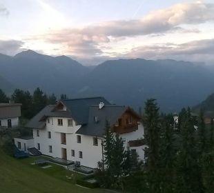 Aussicht vom Zimmer Hotel Castel