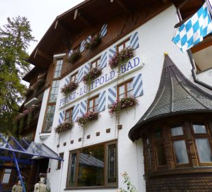 Hoteleingang Hotel Prinz - Luitpold - Bad