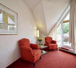 Pavillionzimmer Sessel Hotel Rothof Bogenhausen