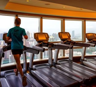 Fitness Room @ Cordis Langham Place Hotel Hotel Langham Place