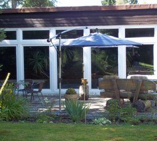 Blick zum Indoor Pool Hotel Hasselhof