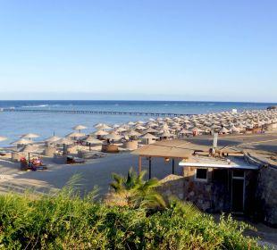 Strand mit Beachrestaurant