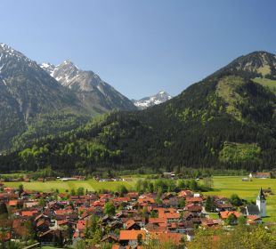 Bad Hindelang im Sommer Schwandenhof Ferienwohnungen