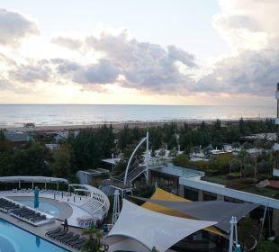 Blick auf´s Meer im Winter TUI Sensimar Side Resort & Spa