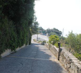 Der Aufstieg zum Marilena Marilena Sea View Hotel