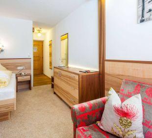 Einzelzimmer Souterrain Hotel Anemone