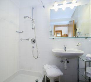 Badezimmer Hotel Ladurner