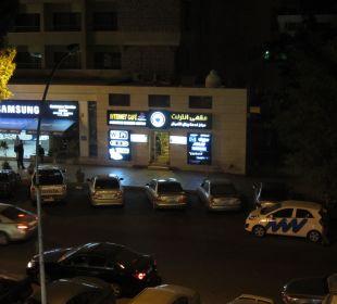 Вид с балкона Al Qidra Hotel