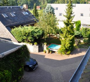 Blick in den Innenhof Ettrich's Hotel