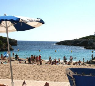 Strand vom Pool