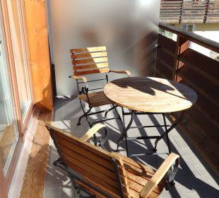 Balkon der Junior Suite Nr. 403 Lenkerhof Gourmet Spa Resort