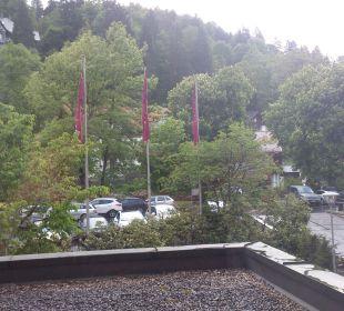 Blick aus dem Zimmer Mercure Hotel Garmisch Partenkirchen