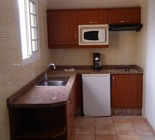 Geräumige Küche Apartamentos La Caleta