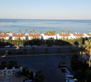 Ausblick aus dem Hotel Hotel Arabella World