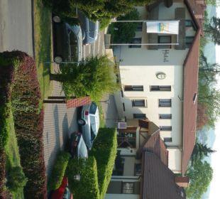 Hoteleingang Hotel Landhaus Silbertanne