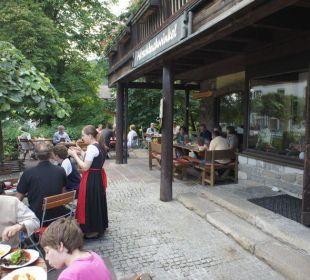 Terrasse Hotel Hirschbachwinkel