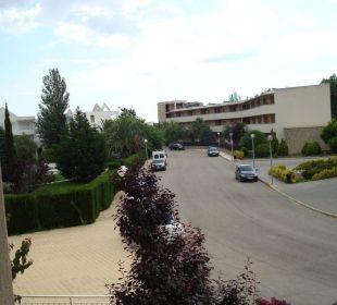 Strasse Hotelanlage Aparthotel Duva & Spa