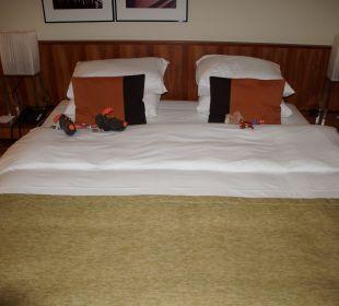Das Bett K+K Hotel George