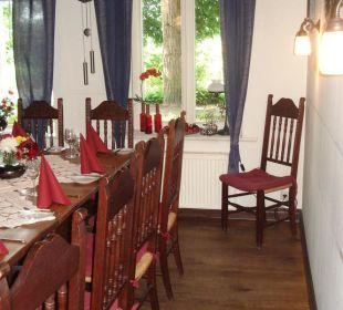 Innenansicht eines Raumes im Haupthaus Landgasthof Hengstforder Mühle
