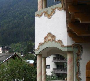 Blick vom Zimmerbalkon Hotel Donnerhof Hotel Donnerhof
