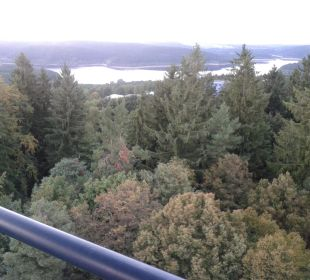 Vom Aussichtsturm Hotel Bühlhaus