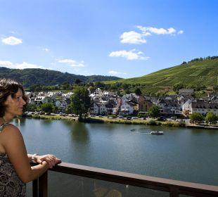 Blick von dem Balkon  Hotel Weinhaus Mayer