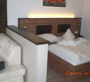 Bergkristall Zimmer Doppelbett Alpenhotel Fischer