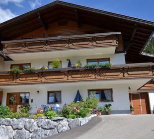 Achterkant huis Ferienwohnung Heim