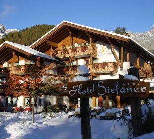 Überraschung am Montagmorgen Naturpark Hotel Stefaner