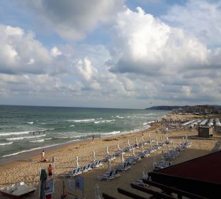 Blick vom Balkon  Sol Luna Bay & Mare Resort