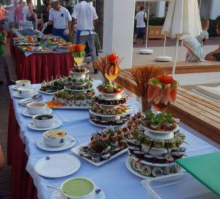 Abendessen  Hotel Club Kastalia
