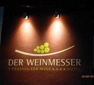 Titel des Hauses Genusshotel Der Weinmesser